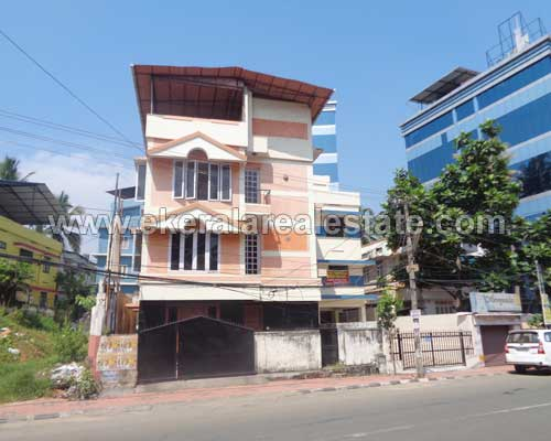 pattom trivandrum road frontage three storied house property sale kerala