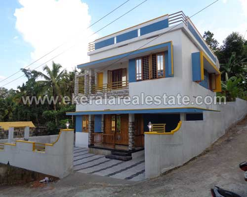 two storied newly built house at thirumala trivandrum kerala real estate