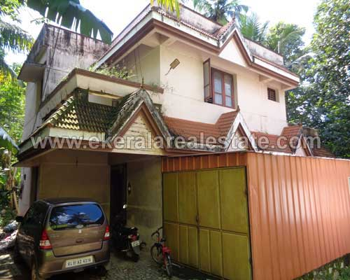 poojappura land with used house sale trivandrum kerala real estate