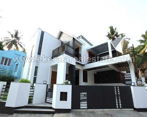 kerala real estate Ambalamukku new built 4 BHK house sale in Ambalamukku trivandrum