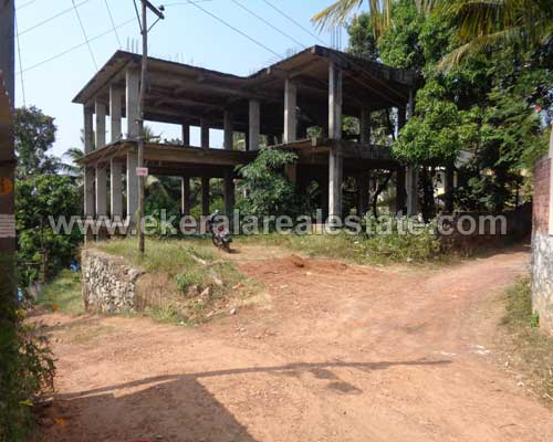 properties pothencode trivandrum pothencode real estate land with incomplete Building sale