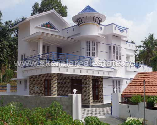 Pothencode real estate two storied new house villas for sale trivandrum