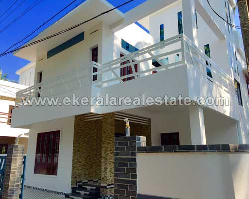trivandrum real estate karikkakom New two storied house sale in karikkakom trivandrum