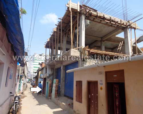 2 cents with 3300 sq.ft. building for sale in attakulangara Trivandrum attakulangara