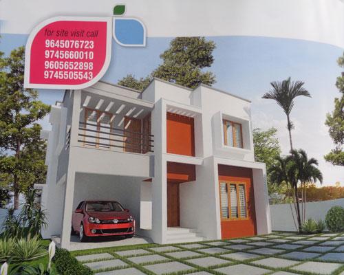 trivandrum real estate mannanthala two storied new house villas in mannanthala