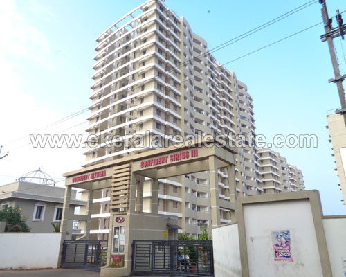 kerala real estate trivandrum menamkulam kazhakuttom 2 bhk flat for sale