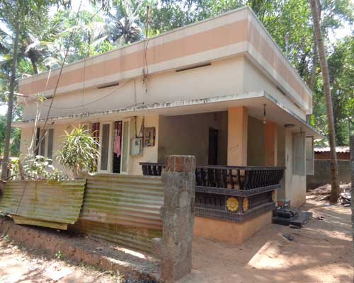 kerala real estate trivandrum pravachambalam 6 cents with 700 sq.ft. house for sale