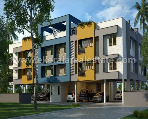 Kerala real estate Properties 2 BHK Apartment for sale at Kesavadasapuram Trivandrum Kerala