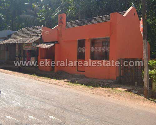 Vellanad Real estate Properties Tar road frontage land with house at Vellanad Trivandrum