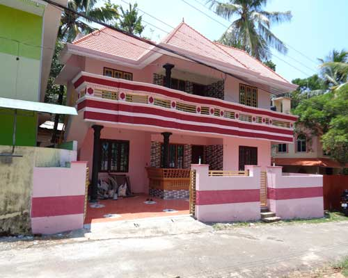 Peyad Real estate Properties Double storied house at Ariyottukonam Peyad Trivandrum