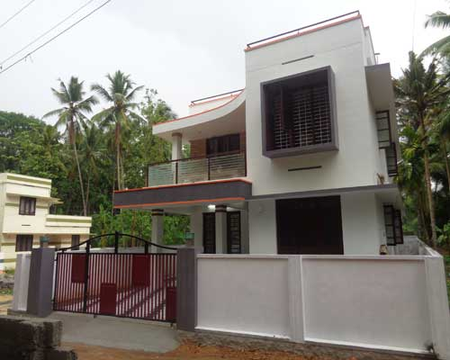 Thiruvananthapuram Vattiyoorkavu Newly built house for sale