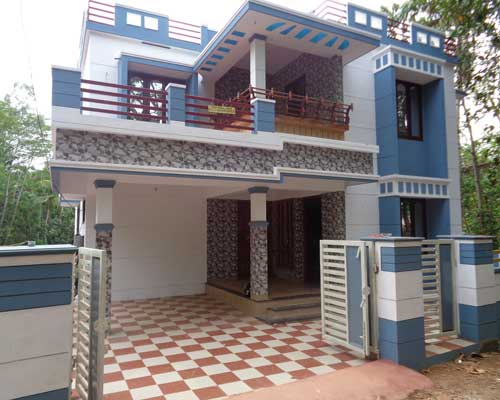 Tar road frontage New House at Thaivila Thirumala Trivandrum Kerala
