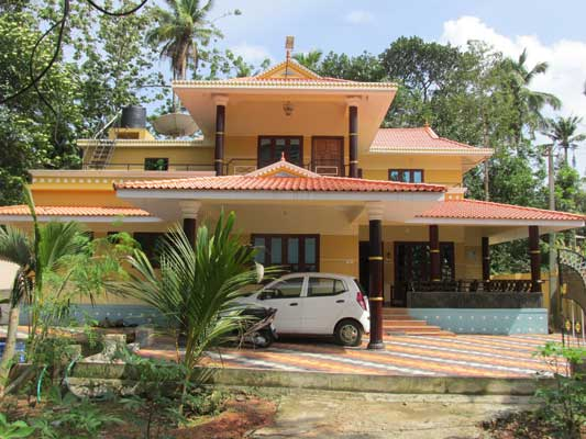 Beautiful House with land sale near South Indian Bank Parippally Kollam Kerala