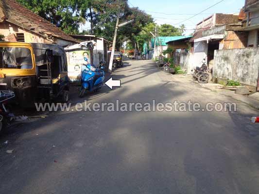 Road frontage land sale near Sreevaraham Thiruvananthapuram Kerala