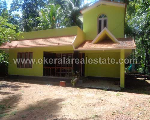Main road frontage land and house at Neyyattinkara near Balaramapuram Trivandrum