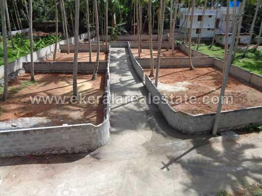 Kariavattom Real Estate 3, 4, 5 Cents House Plots for sale at Pangappara Kariavattom Trivandrum Kerala