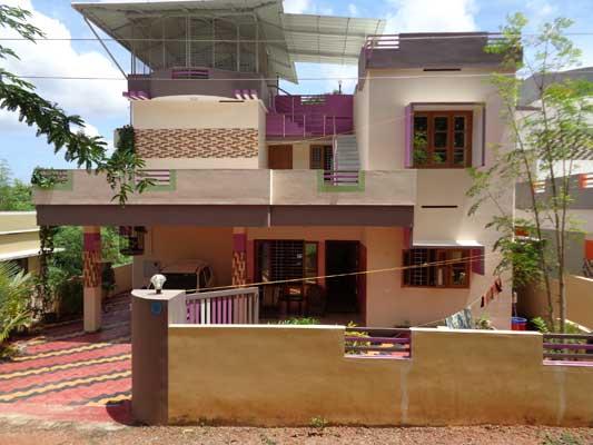 Properties in Njandoorkonam Furnished used House Villas at Njandoorkonam Sreekaryam