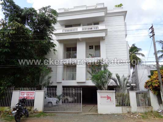 3 Bedrooms 1590 Sq.ft. Apartment in Pongumoodu near Sreekaryam Trivandrum kerala