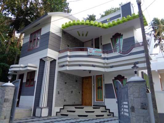 Modern New House in Vattiyoorkavu near Thozhuvancode Trivandrum