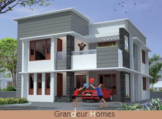 Independent New Villas in Kudappanakunnu Trivandrum Kerala