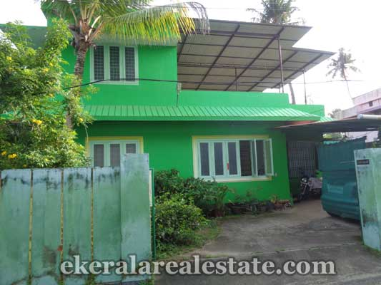 Land with 1500 Sq.ft house for sale at Mundakkal Kollam  kerala