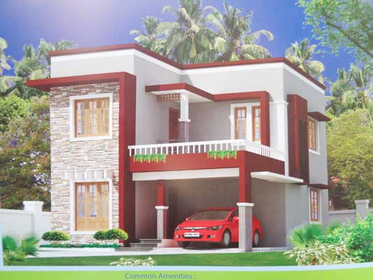 villa properties for sale in Mavelikkara trivandrum real estate