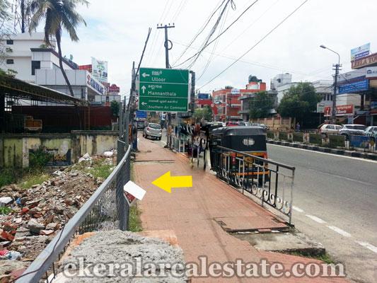 real estate properties in trivandrum commercial land plots sale at Kesavadasapuram trivandrum kerala