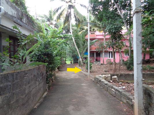 real estate properties in trivandrum residential land plots sale at Pappanamcode trivandrum kerala