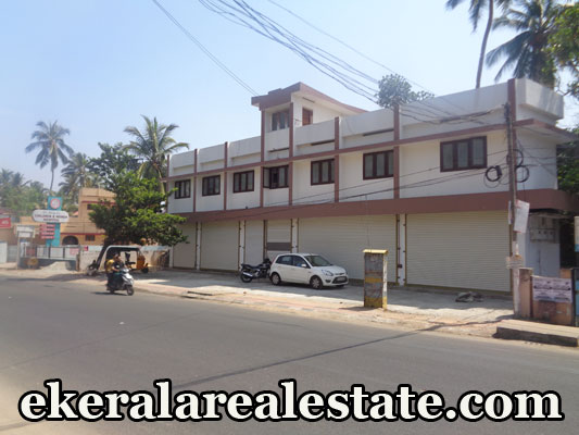 kerala real estate kamaleswaram trivandrum shopping complex sale at manacaud kamaleswaram