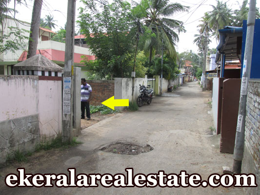 lorry access house plot for sale at Pettah Pallimukku Trivandrum real estate properties trivandrum Pettah Pallimukku Trivandrum