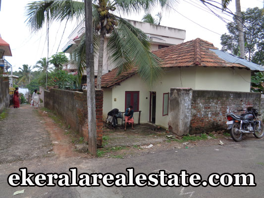 5 cent land and old house for sale at Amabalamukku NCC Road Trivandrum Kerala trivandrum properties sale