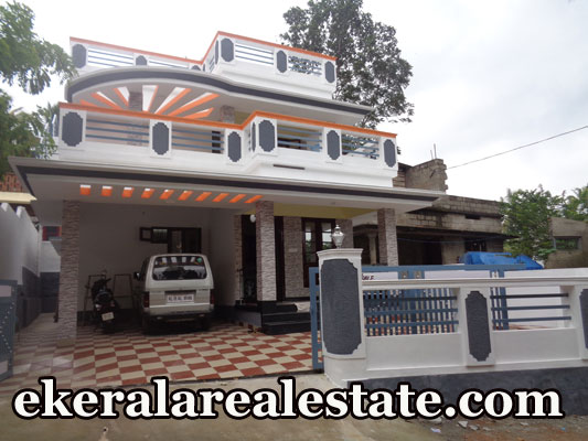 60 Lakhs House Sale at Powdikonam Sreekariyam Trivandrum 4 Cents land and house sale