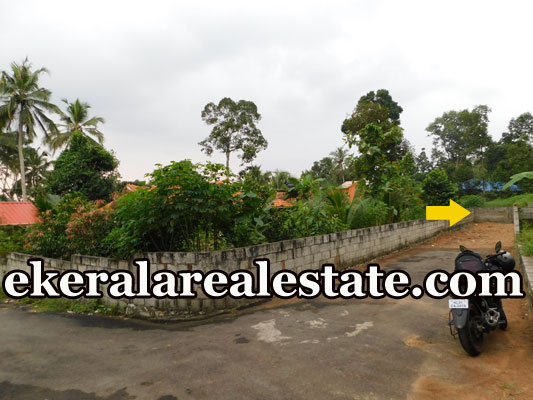 road frontage house plot for sale at Malayinkeezhu Trivandrum Malayinkeezhu real estate kerala