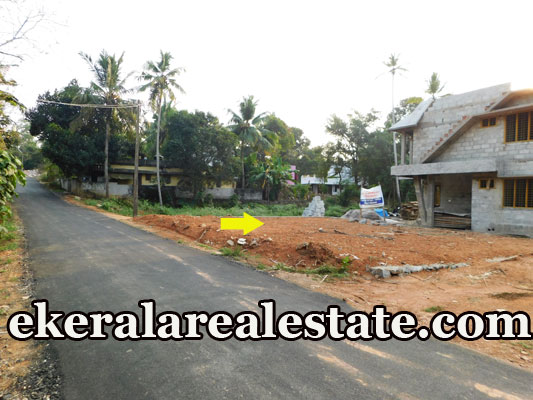 5.8 lakhs per Cent road frontage house plot for sale at Mangattukadavu Thirumala Trivandrum Thirumala real estate properties sale