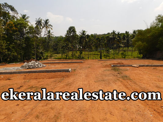 house plot for sale at Pirappancode Venjaramoodu Trivandrum real estate land plots sale