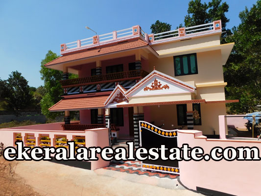 7 Cent 4 bhk house for sale a t Kizhuvilam Mamom Attingal Trivandrum Attingal real estate properties sale
