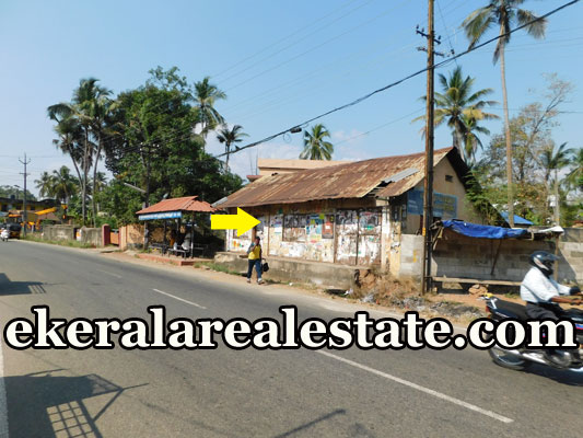 18 Cent house plot for sale at Peyad Junction Trivandrum real estate properties sale