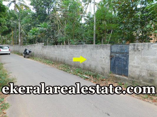 road frontage house plot for sale at Peringammala Venganoor Trivandrum real estate properties sale