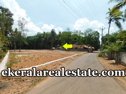 tar road frontage house plot for sale at Aliyad Chembur Venjaramoodu Trivandrum
